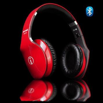 Rhythmz IME-22817 Wireless Fashion Hi-Fi Bluetooth Headphone - Red