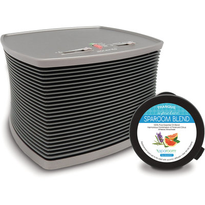 Spa Room Ascents Professional Gel Diffuser with SpaRoom Blend Ascents Pod-1 Each