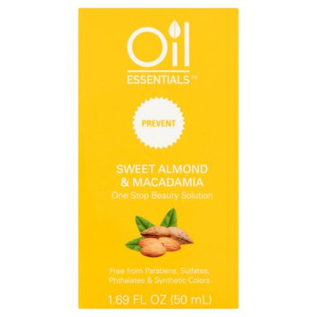 Emilia Personal Care Oil Essentials Prevent Sweet Almond & Macadamia Beauty Oil, 1.69 fl oz