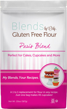 Blends by Orly Paris Blend Gluten Free Flour-3 Bags Each