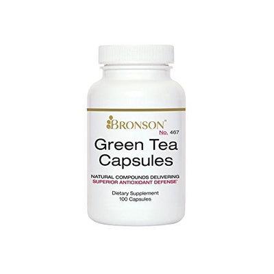 Bronson Vitamins Green Tea Capsules