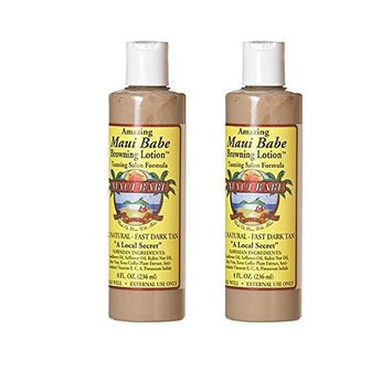 Maui Babe Browning Lotion Tanning Salon Formula (Quantity of 2) by Maui Babe