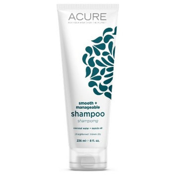 Acure Organics Smooth + Manageable Shampoo Coconut -- 8 fl oz