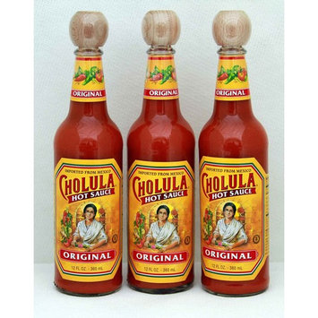 Cholula Original Hot Sauce, 12 Fluid Ounces 3 pack
