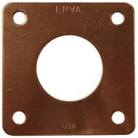 Erva PH4C 1.0 in. dia. Portal for Wren Houses - Genuine Copper