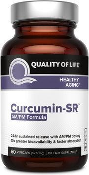 Curcumin-SR AM/PM Quality of Life Labs 60 VCaps