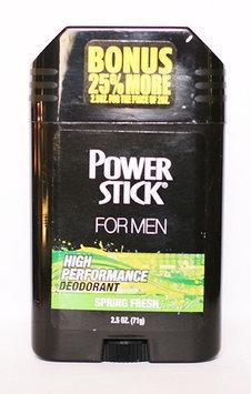 Power Stick Spring Fresh Deodoant Stick 2.5 oz.