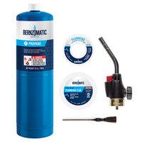 Worthington Pro Grade Self-Igniting Torch with Plumbing Kit