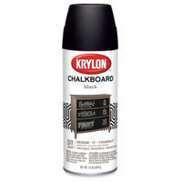 Krylon 807 Chalkboard Paint, Black (6 Pack)