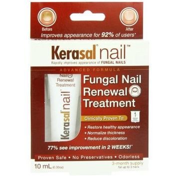 Kerasal Kerasal Nail Fungal Nail Renewal Treatment 10 Ml (Pack Of 2), 2 Count