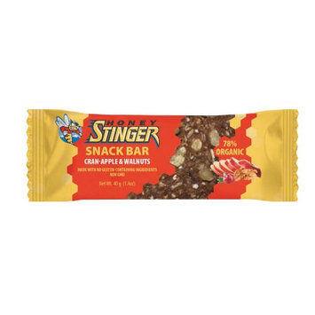 Honey Stinger Cran-Apple and Walnut Snack Bar - Box of 15 - cran-apple & walnut, box of 15