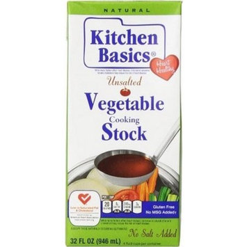 Kitchen Basics Kitchen Basics Organic Vegetable Stock, 32 Fl Oz, 32 OZ (Pack of 2)