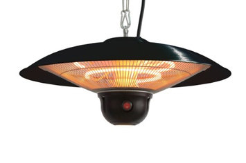 Ener-G+ HEA-21522MI-B 1500 Watt Black Infrared Gazebo Heater