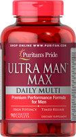 Puritan's Pride Ultra Man Max-90 Caplets