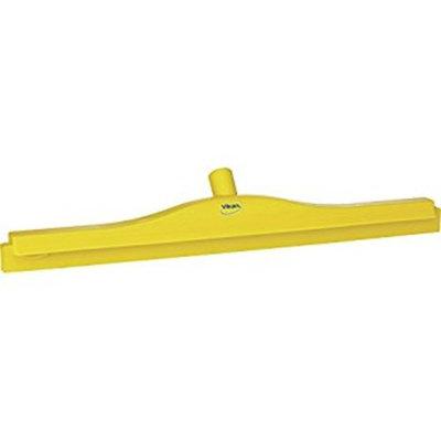 Vikan 77146 Rubber Polypropylene Frame Double Blade Squeegee, 24
