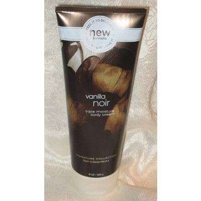 Bath Body Works Bath & Body Works Signature Collection Vanilla Noir Body Cream, 8 oz (226 g)