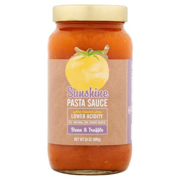 The Sunshine Tomato Company Sunshine Pasta Suace, Sauce Pasta Bean; Trffle, 24 Oz (Pack Of 6)