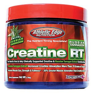 Athletic Edge Nutrition 5820010 130g Creatine RT Grape Bubble Gum