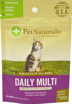 Pet Naturals of Vermont Feline Daily Multivitamin Chews