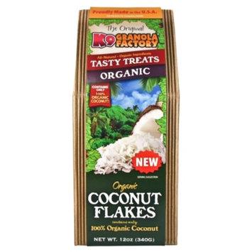 K9 Granola Factory K9007065 Organic Coconut Flakes Dog Treat, 12 oz