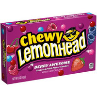 Lemonhead Chewy Lemonhead Berry Awesome Theatre Box, Assorted Fruit Flavors, 5 Oz