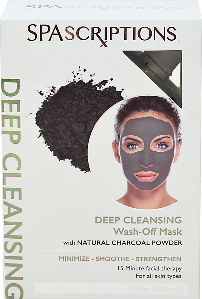 Spascriptions Deep Cleansing Charcoal Wash-Off Mask
