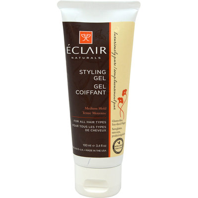 Eclair Naturals Medium Hold Styling Gel 3.4 oz