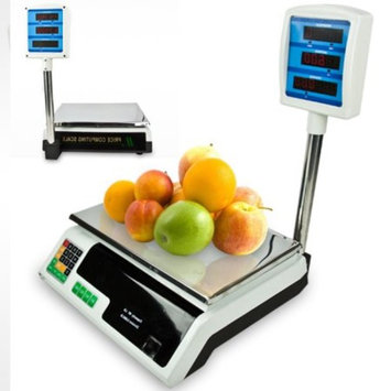 60 Lb Digital Food Meat Produce Weight Computing Scale Telescopic