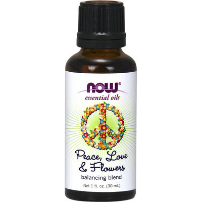 Now Essential Oils Peace, Love, & Flowers Balancing Blended Oil-30 ml Oil