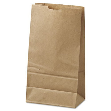 General 6 Kraft Paper Bag in Brown