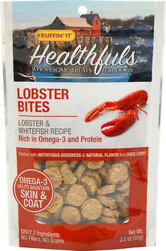 Ruffin'It Healthfuls Lobster Bites for Dogs