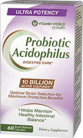 Vitamin World Maximum Acidophilus Probiotic Complex 10 Billion