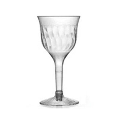 Fineline Settings 2206 Flairware 5 oz Clear Wine Goblet 2 Piece