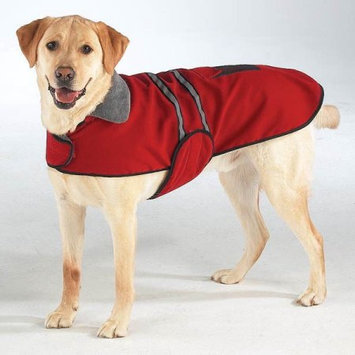 Casual Canine Reflective Dog Jacket Red Extra Small