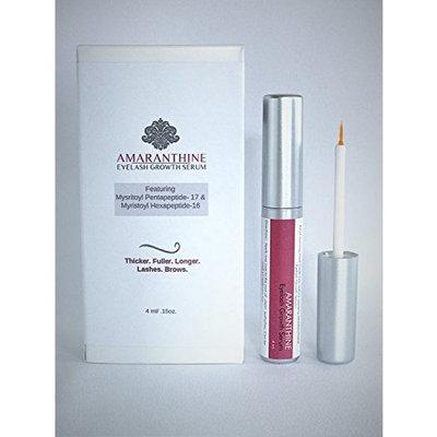 Amaranthine Daily Eyelash Growth Enhancer Serum feat. Myristoyl Pentapeptide-17 and Hexapeptide-16, Keeps your lashes looking youthful. 4 ml./ 0.15oz.