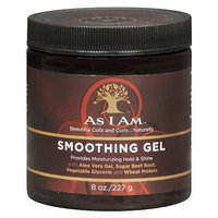 As I Am Smoothing Hair Gel 8.0 oz.(pack of 6)