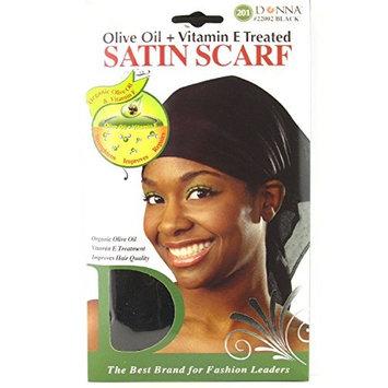 Donna Satin Scarf, Olive Oil + Vitamin E Treated
