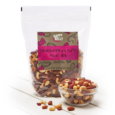 Amazon Brand - Happy Belly Cranberry & Nuts Trail Mix, 40 oz [Cranberry & Nuts]