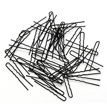 150 Pieces 2.3 Inches Black Color Bun Hair Pins U Shaped Pins Hairpins No Slip Grip Thin Hairdressing Styling DIY Tools Women Hair Clip
