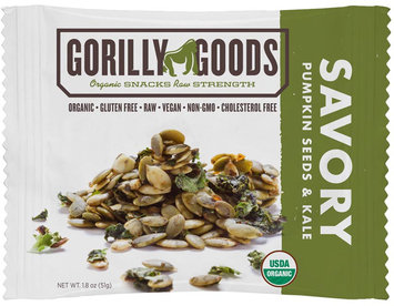 Gorilly Goods Organic Raw Fruit & Nut Things Seeds & Greens Savory 1.4 oz