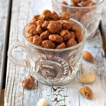 High Valley Orchard Butter Toffee Mixed Nuts-8 oz Bag
