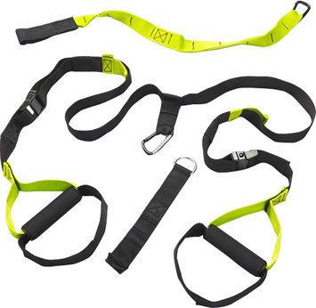Black Mountain Products Suspension Trainer with Door Anchor, Extension Strap and Carrying Case-1 Kit