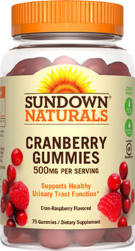 Sundown Naturals Cranberry 500 mg Gummies 75 ea (Pack of 3)