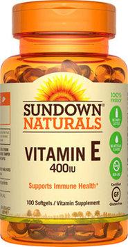 Sundown Naturals Sundown Naturals Vitamin E 400 IU -100 Softgels