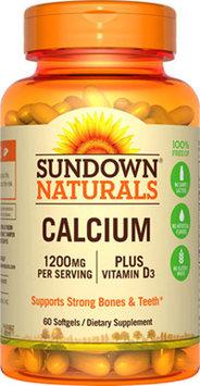 Sundown Naturals Sundown Naturals Calcium 1200 plus D -60 Softgels