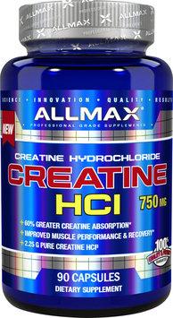 Allmax Nutrition Creatine HCl - 90 Capsules