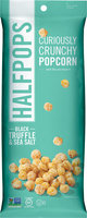 Halfpops Black Truffle & Sea Salt Halfpops - 12 Bags-12 Each