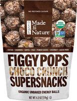 Made in Nature Organic Choco Crunch Figgy Pops-4.2 oz Bag