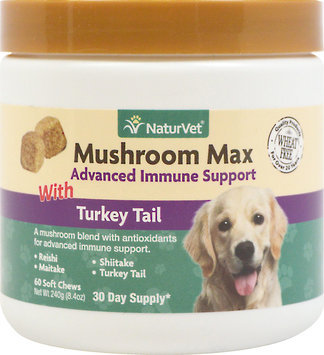 NaturVet Mushroom Max Advanced Immune Support