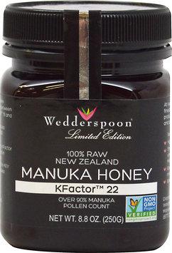 Wedderspoon 100% Raw Premium Manuka Honey 90 KFactor 22 - 8.8 oz